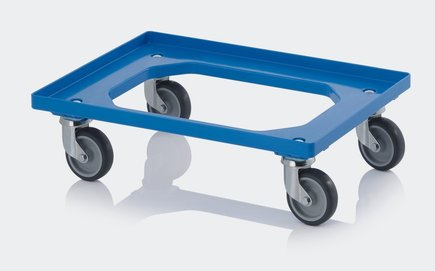 Trolly for climbing holds